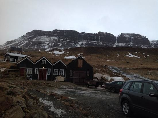 Hraunsnef Country Hotel: het uitzicht achter het hotel
