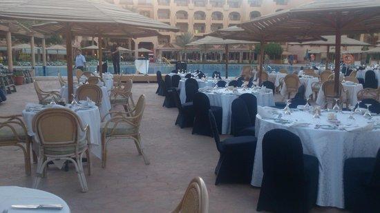 Continental Hotel Hurghada : Ужин во вторник