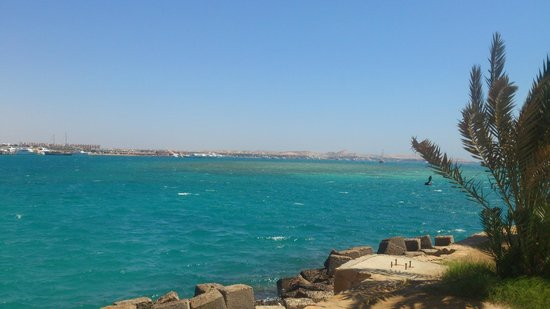 Continental Hotel Hurghada : Бухта