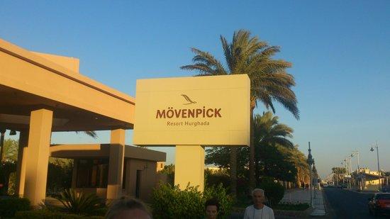 Mövenpick Resort Hurghada : Въезд в отель