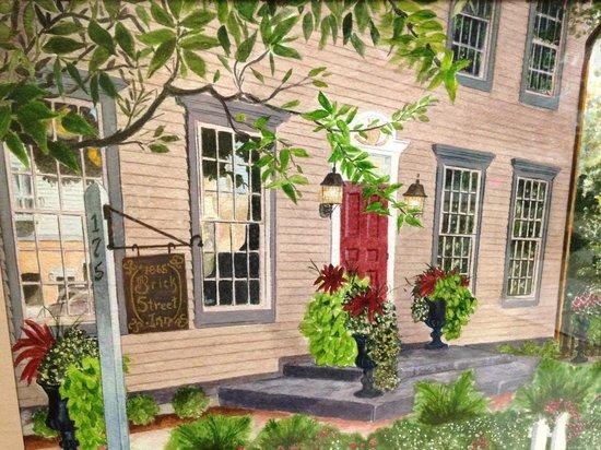 "Brick Street Inn- ""A Margaret Mulligan Watercolor"""