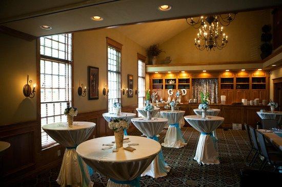 Brick Street Inn: The Chautauqua Room Wedding Reception