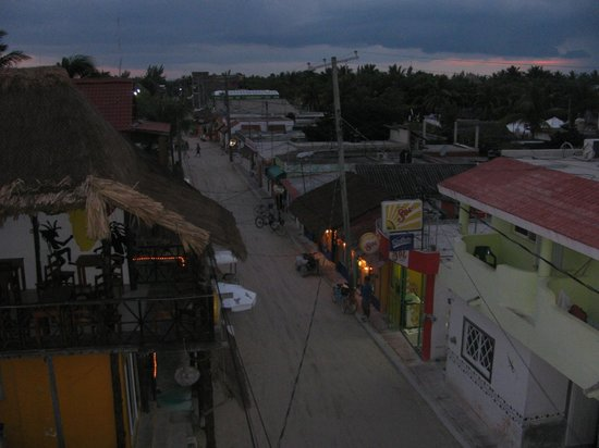 La Parrilla De Juan Holbox: view of town from La Parrilla Juan