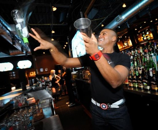 Jack Astor's: Flair Bartending