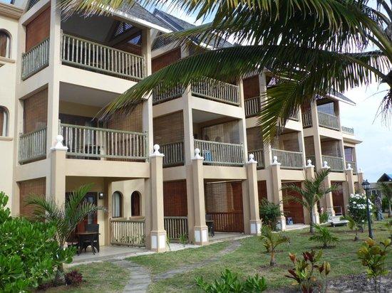 Jalsa Beach Hotel & Spa - Mauritius: Hotel sea facing rooms