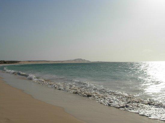 Iberostar Club Boa Vista : praia areia branca mar maravilhoso
