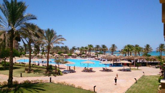 Continental Hotel Hurghada : Вид из окна