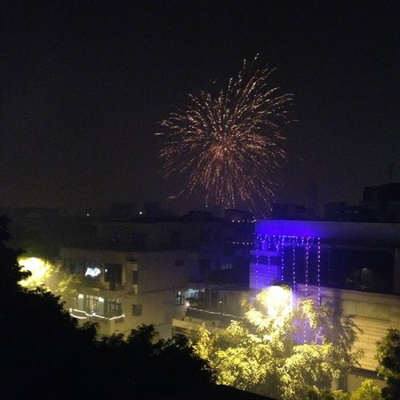 juSTa Greater Kailash, New Delhi : Diwali fireworks