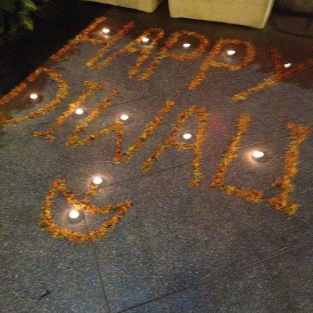 juSTa Greater Kailash, New Delhi : Diwali decor