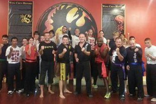 Wing Chun Kung Fu Downtown Lakeland: Boot camp fitness