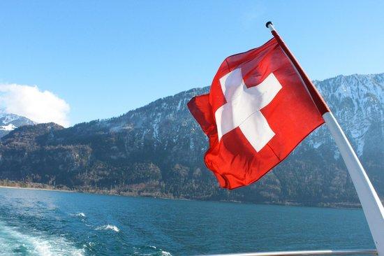 Thunersee : On Lake Thun cruise