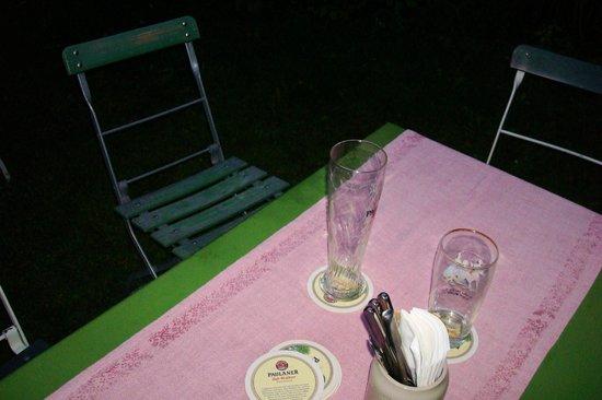 Arzbacher Hof: Stühle können abfärben