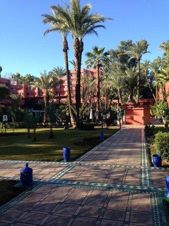Hotel Kenzi Farah : Garden