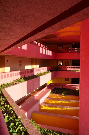 Club Regina Puerto Vallarta: that's a lot of pink and yellow