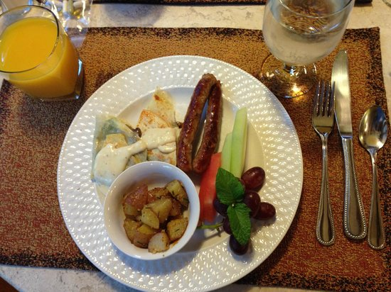Inn on the Hill : Another morning breakfast