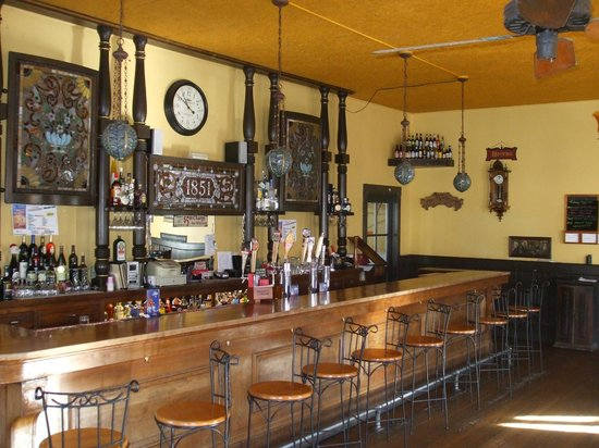 The Historic Hotel Leger: Saloon - Spirits Here Since 1851!