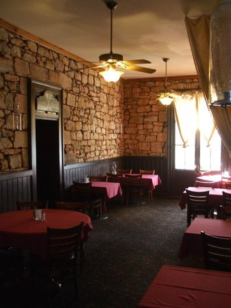 The Historic Hotel Leger: Front Dining Room