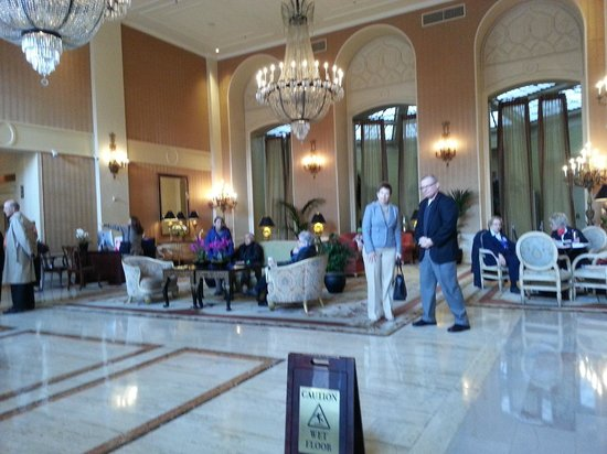 InterContinental Mark Hopkins San Francisco: Lobby Area