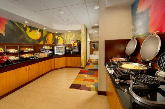 Fairfield Inn & Suites Germantown Gaithersburg: Complimentary Hot Breakfast