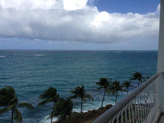 The Condado Plaza Hilton : view from the balcony