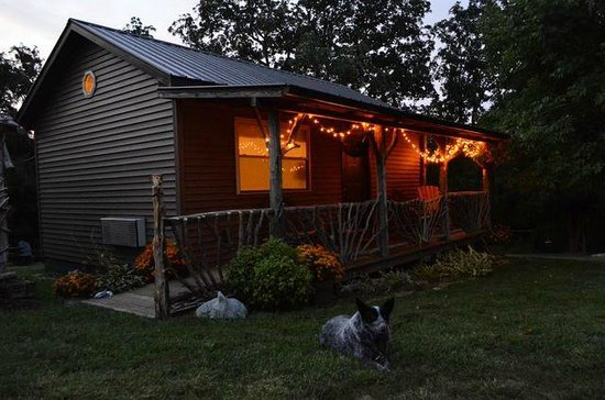 Rim Rock's Dogwood Cabins: Pet friendly.  Coyote Hollow