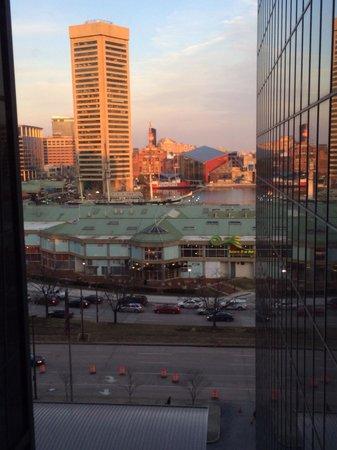 Hyatt Regency Baltimore Inner Harbor: View from the 9th floor