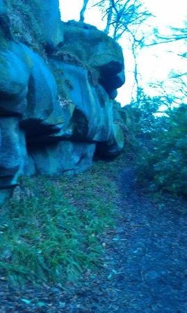 Druids Caves: some of druids rocks
