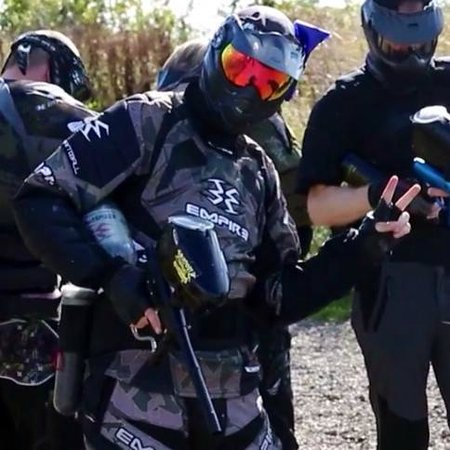 Outpost Paintball: Me at outpost!