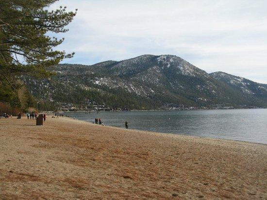 Lake Tahoe Nevada State Park : Incline Beach, Lake Tahoe