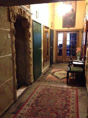 Klezmer Hois : entree hotel