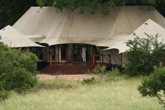 Hamiltons Tented Safari Camp: Reception