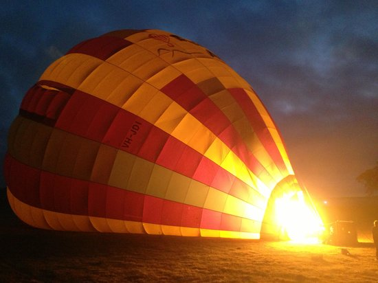 Balloon Aloft Camden: Up up and away we went.