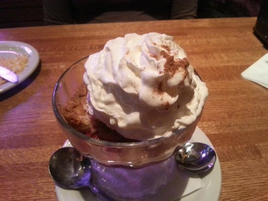 Glory Days Grill: Cheery cobbler was quite good