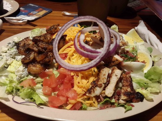 Cobb Salad Picture Of Miller 39 S Ale House Lake Buena Vista Orlando Tripadvisor
