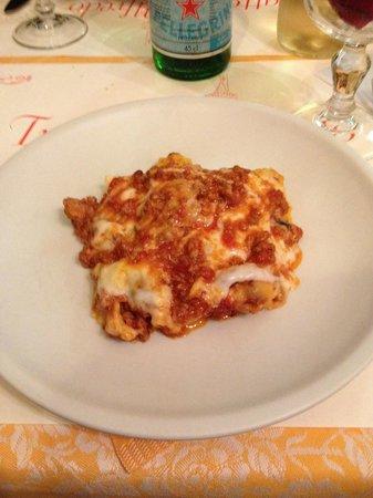 Alfredo: Lasagna