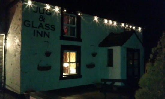 The Jug and Glass Inn: Evening meal here