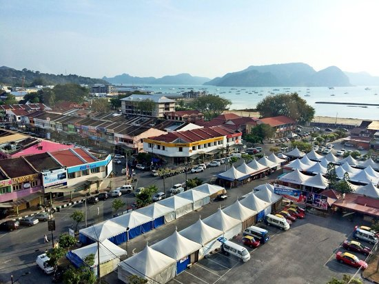 Bayview Hotel Langkawi: view from 9th floor