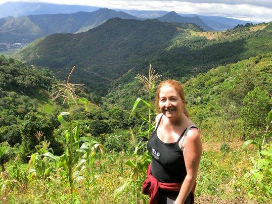 Earth Lodge: Happy hiking!!