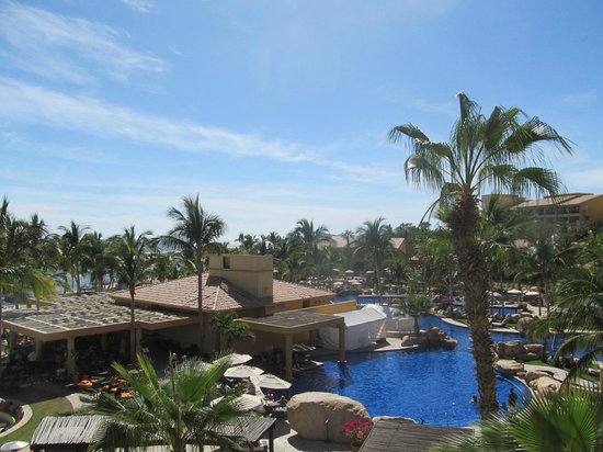 Grand Fiesta Americana Los Cabos All Inclusive Golf & Spa: From our room on the 3rd floor