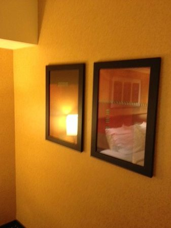 SpringHill Suites Portland Vancouver: nice pictures in room