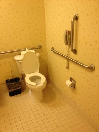 SpringHill Suites Portland Vancouver: clean bathroom