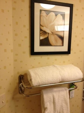 SpringHill Suites Portland Vancouver: bathroom photo