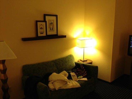 SpringHill Suites Portland Vancouver: sitting area