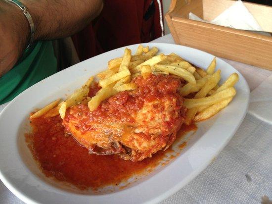 Maro's Taverna: poulet