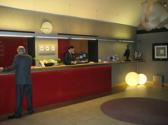 Hotel El Castell: Recepción
