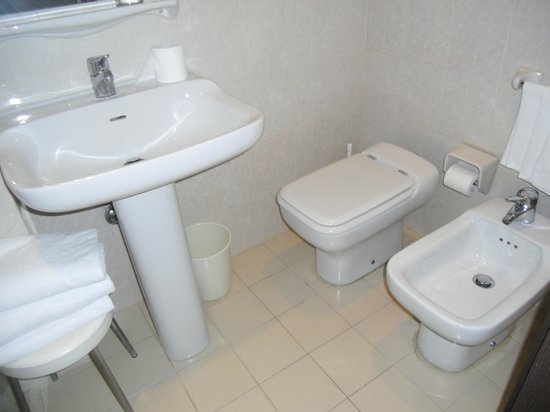 Soperga Hotel: lavabo