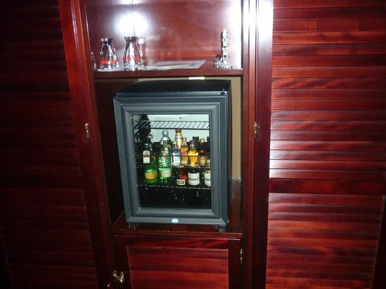 Hotel Nautica : mini bar