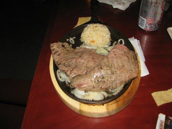 Viva Zapata Isla Holbox: steak