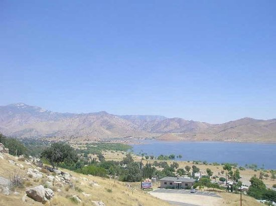 View of Lake Isabella from the hills.