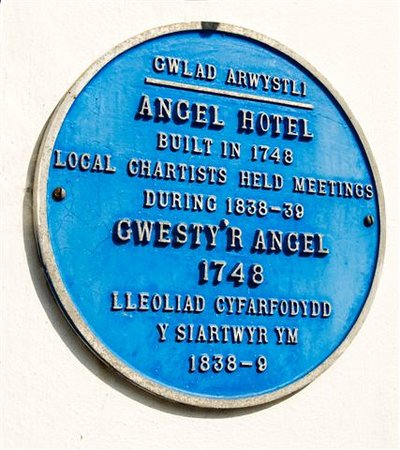 The Angel: Blue Plaque Pub